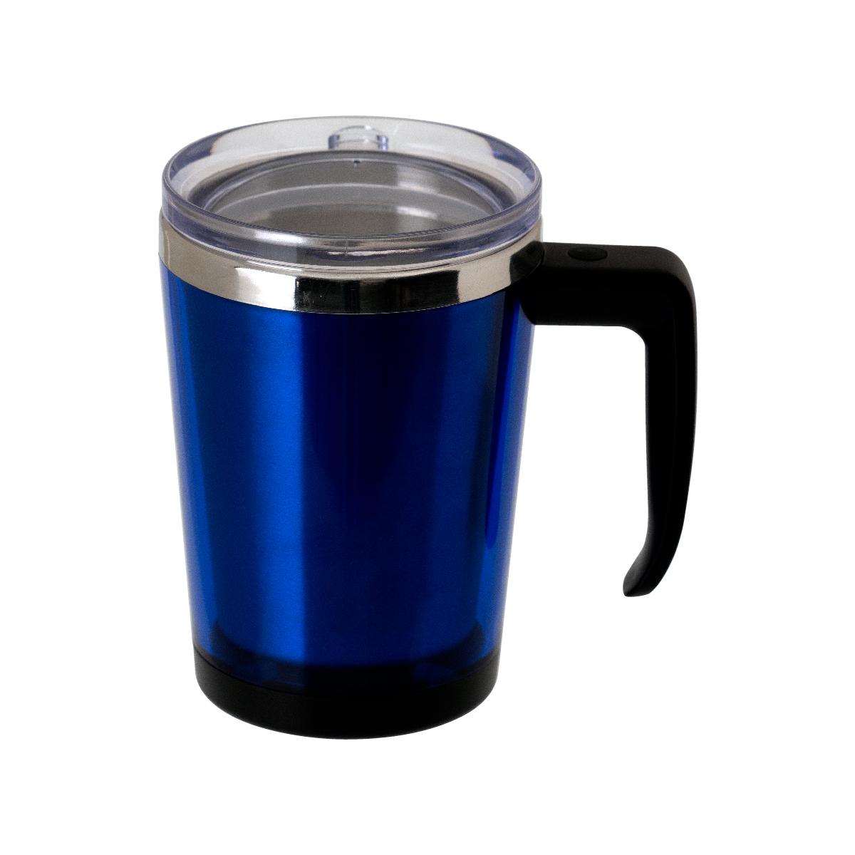 中空マグカップ 330ml ブルー