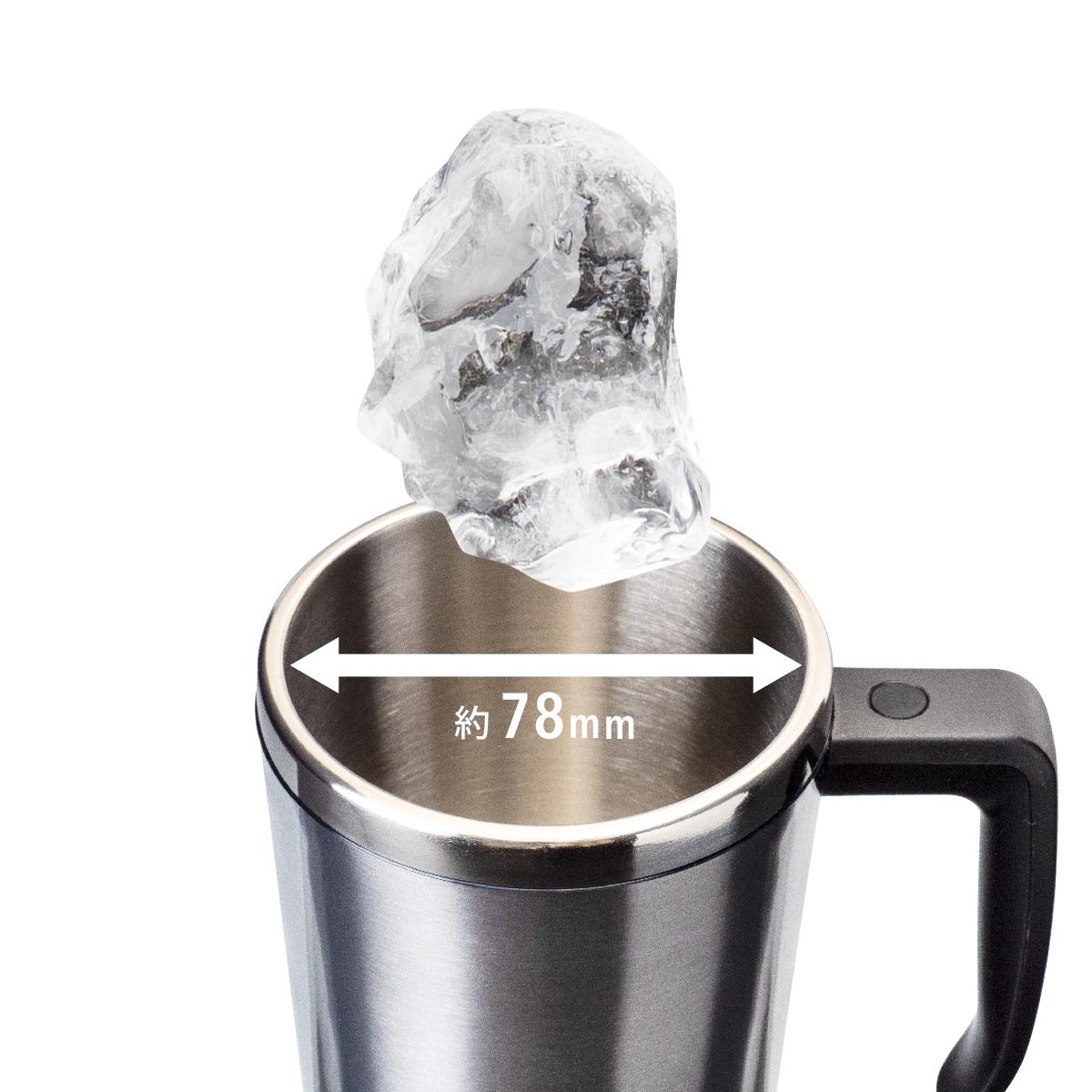 氷が楽にはいる