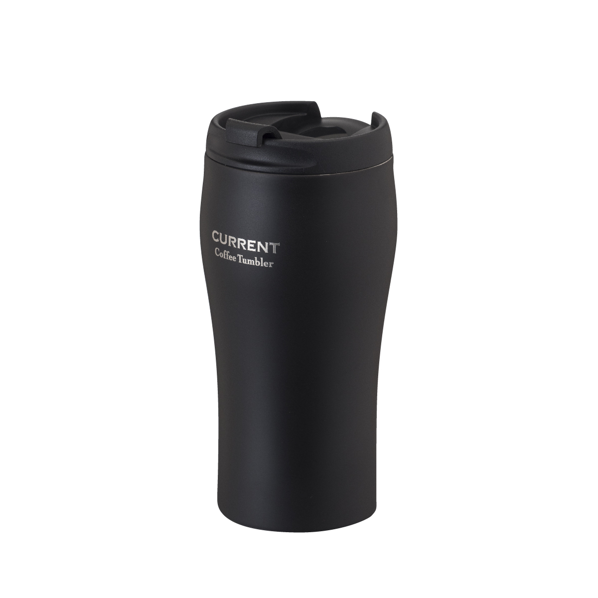 CURRENT フタ付きコーヒータンブラー 350ml  ブラック
