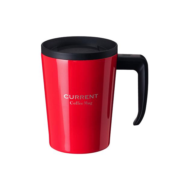 CURRENT コーヒーマグカップ 330ml レッド image01