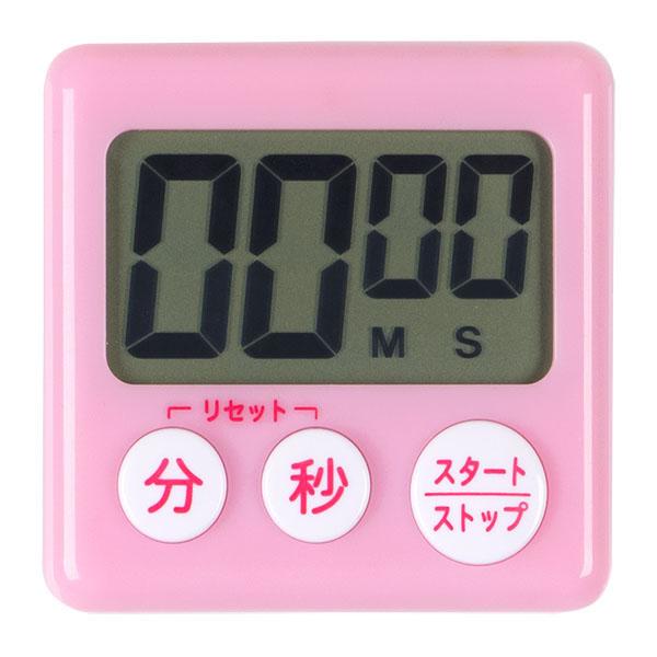 キッチンタイマー ピンク image01