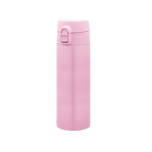 軽量ワンタッチボトル 500ml ピンク