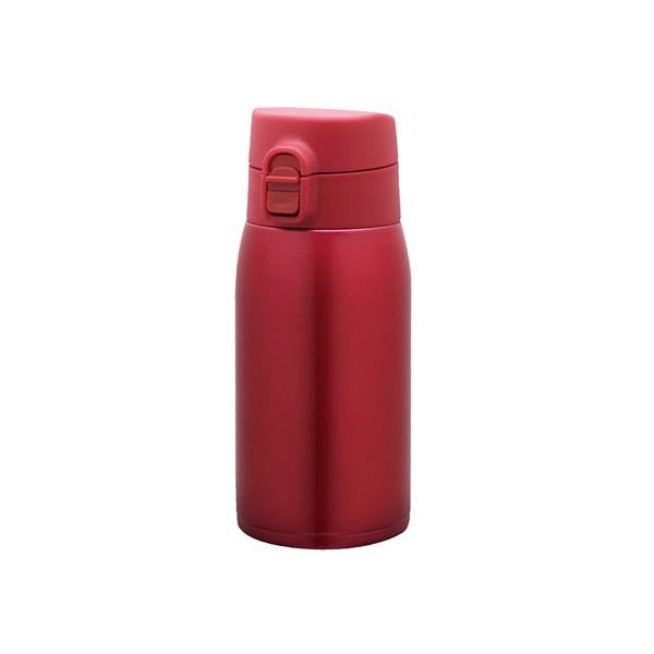 超軽量ワンタッチボトル 350ml レッド