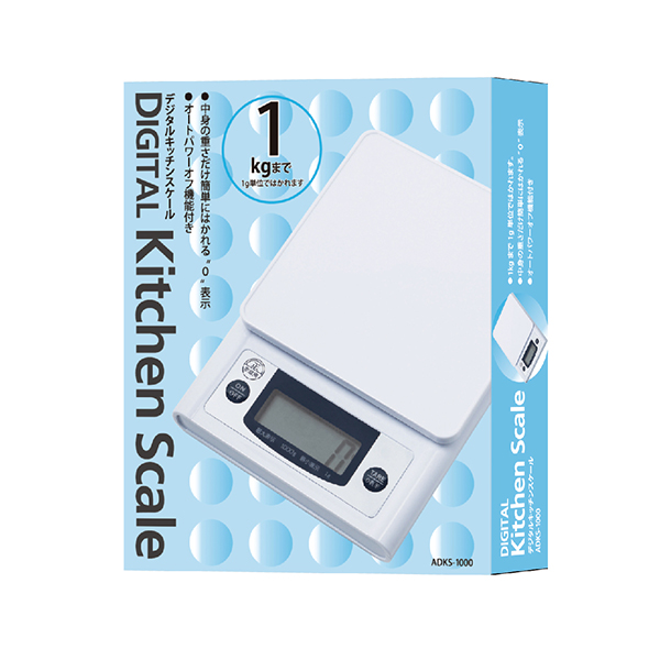 デジタルキッチンスケール 1kg image04