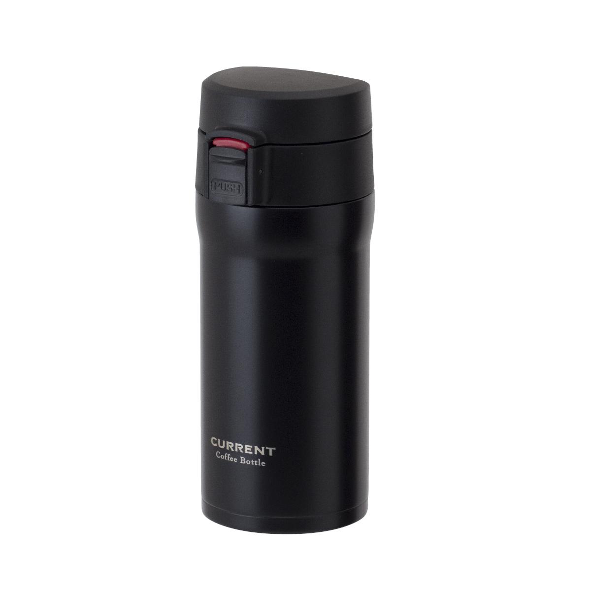 CURRENT コーヒーワンタッチボトル 350ml ブラック