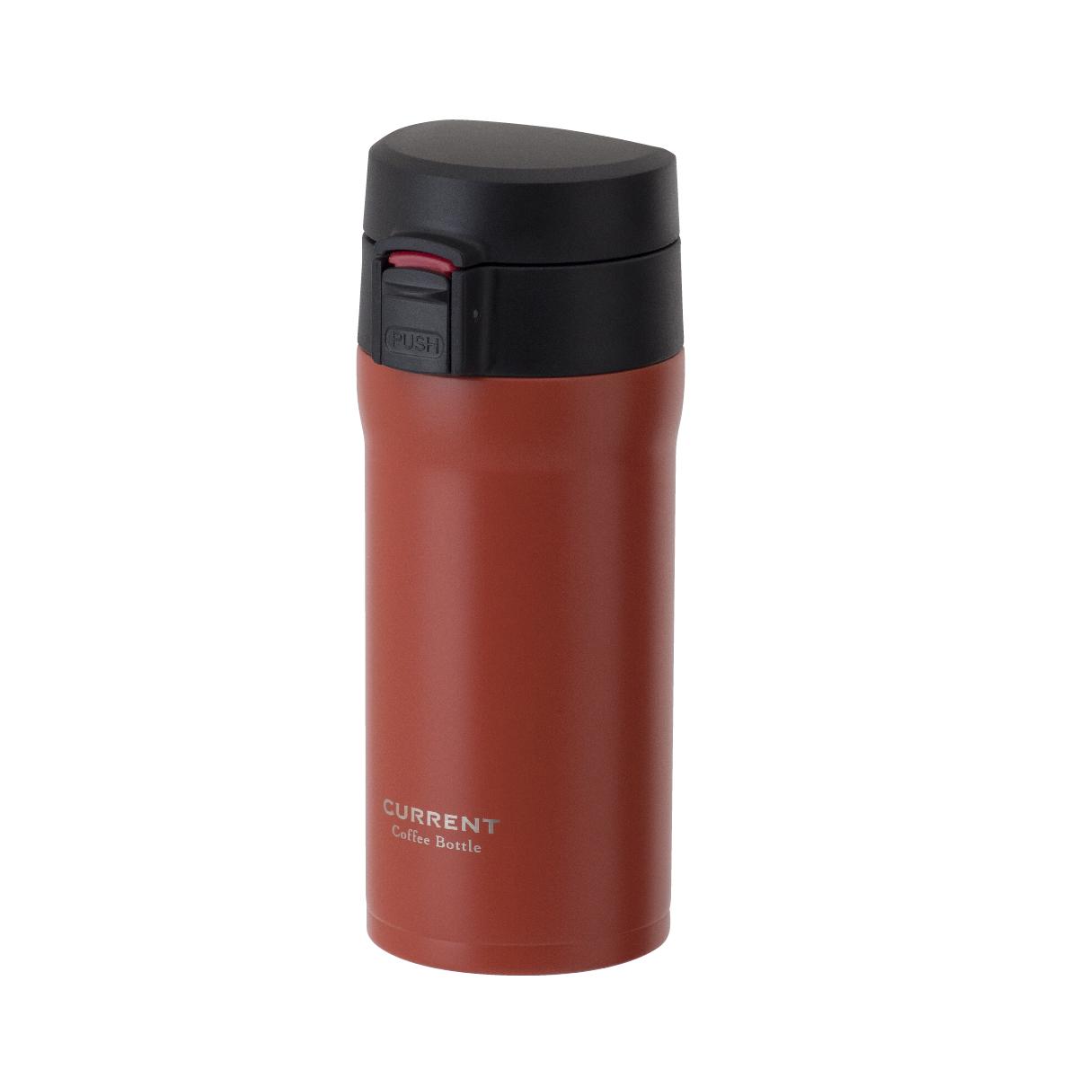 CURRENT コーヒーワンタッチボトル 350ml オレンジ image01