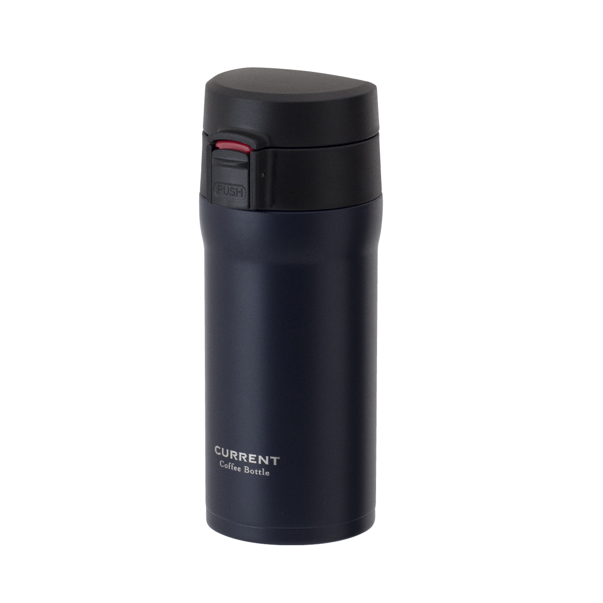 CURRENT コーヒーワンタッチボトル 350ml ネイビー