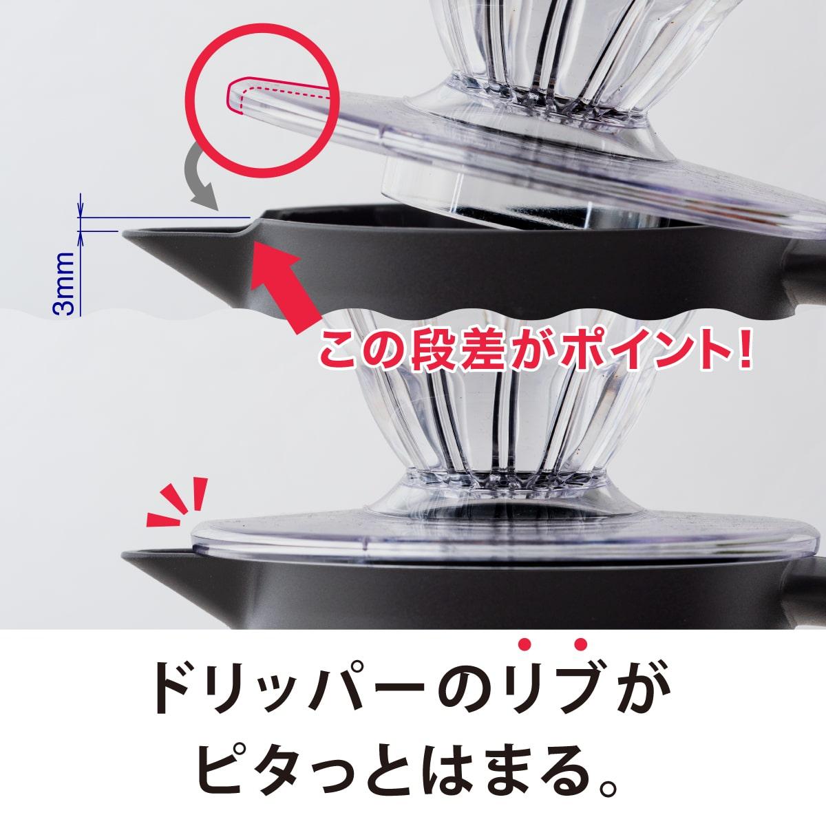CURRENT コーヒーサーバー 800ml ブラック image03