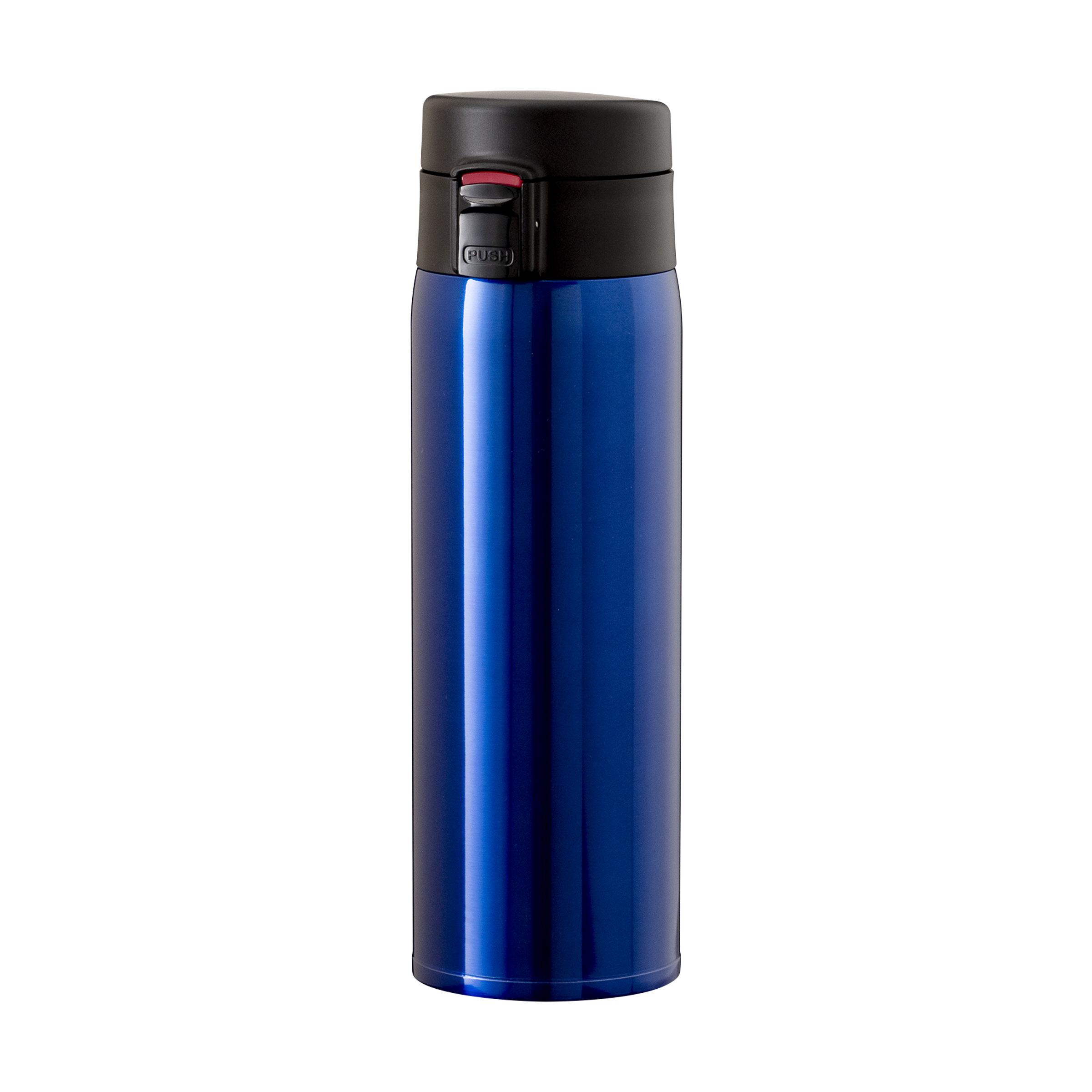 軽量ステンレスワンタッチボトル 680ml ブルー image01