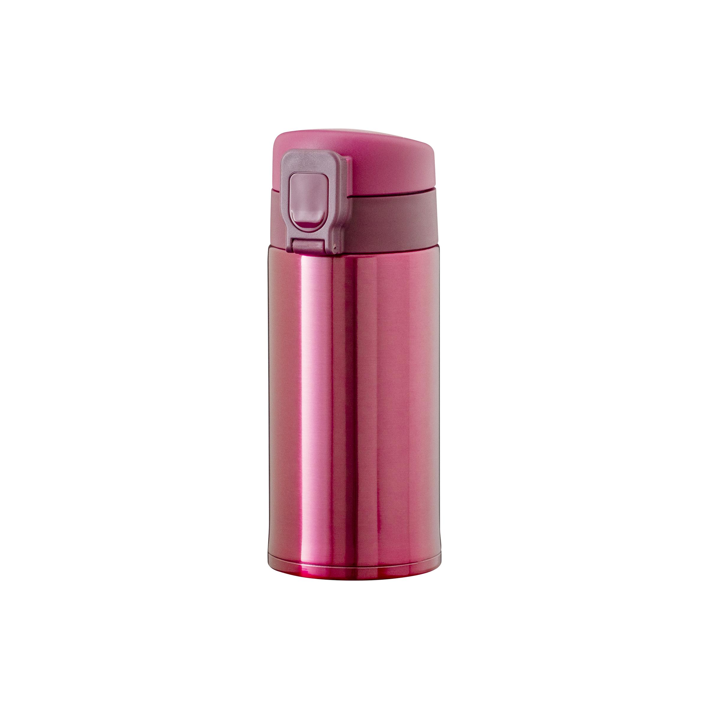 軽量ワンタッチボトル 350ml ピンク