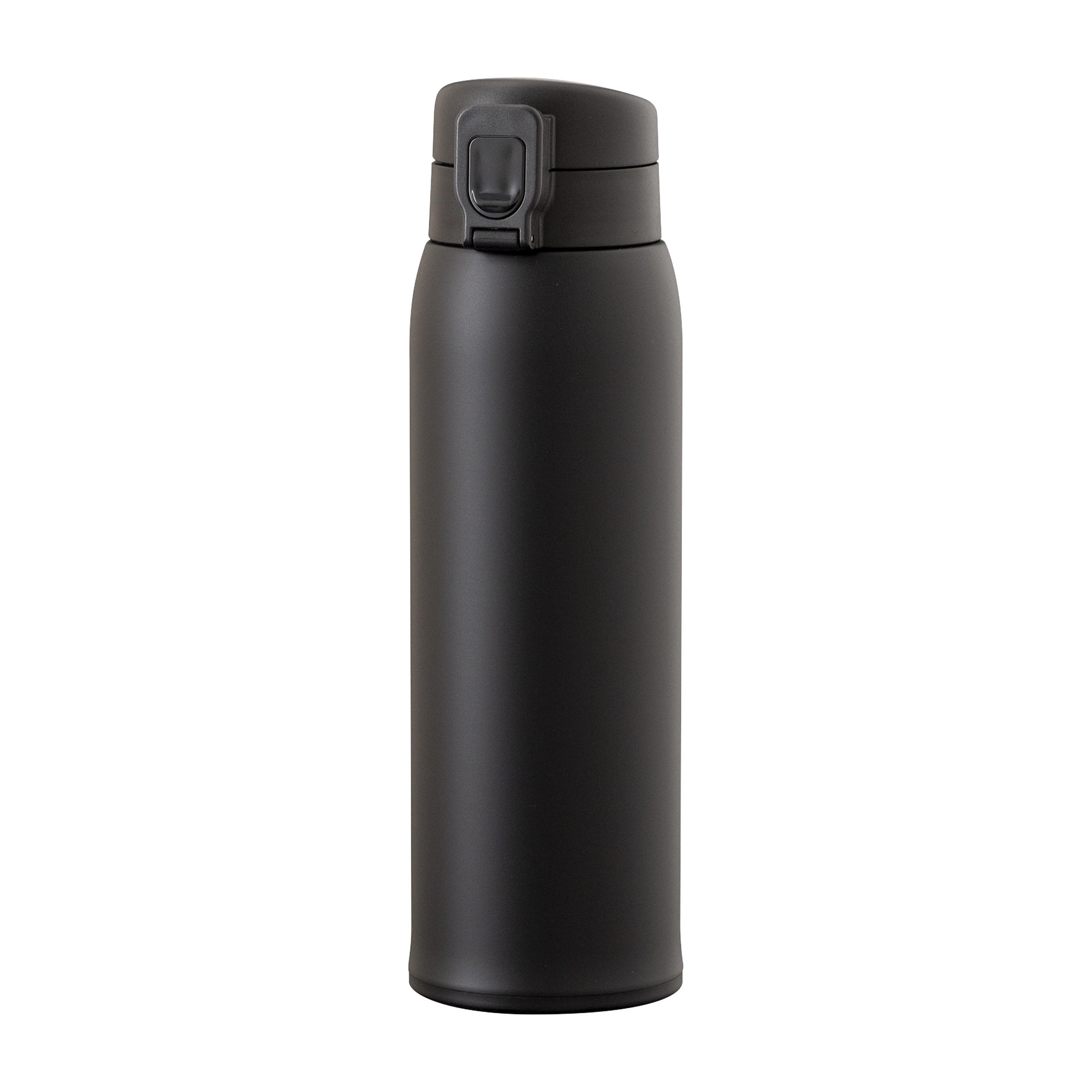 軽量ワンタッチボトル 800ml ブラック