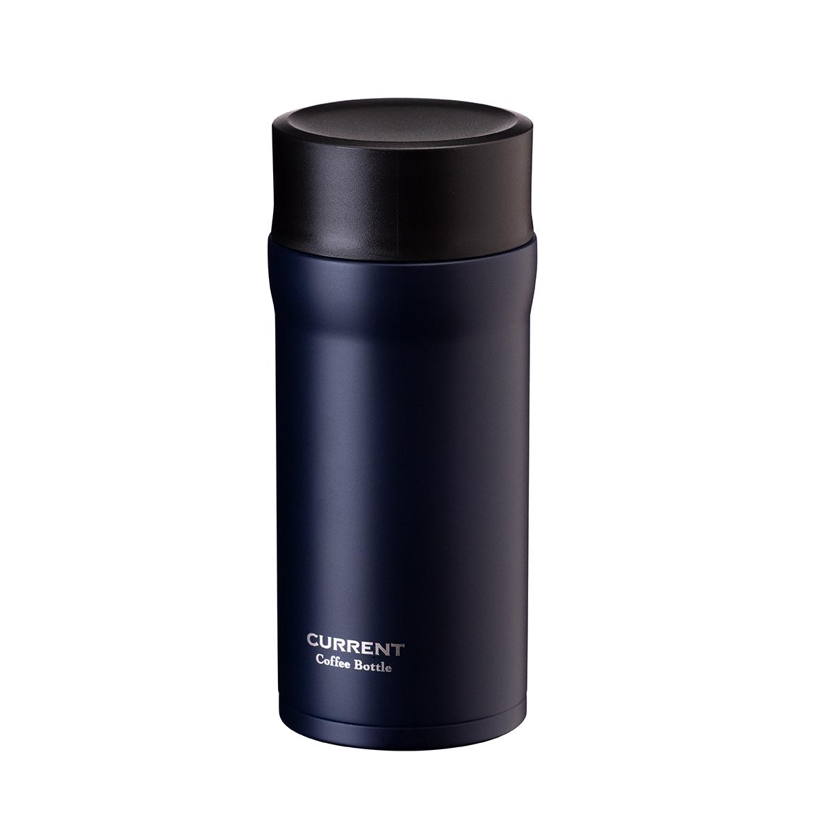 CURRENT コーヒーマグボトル 350ml ネイビー