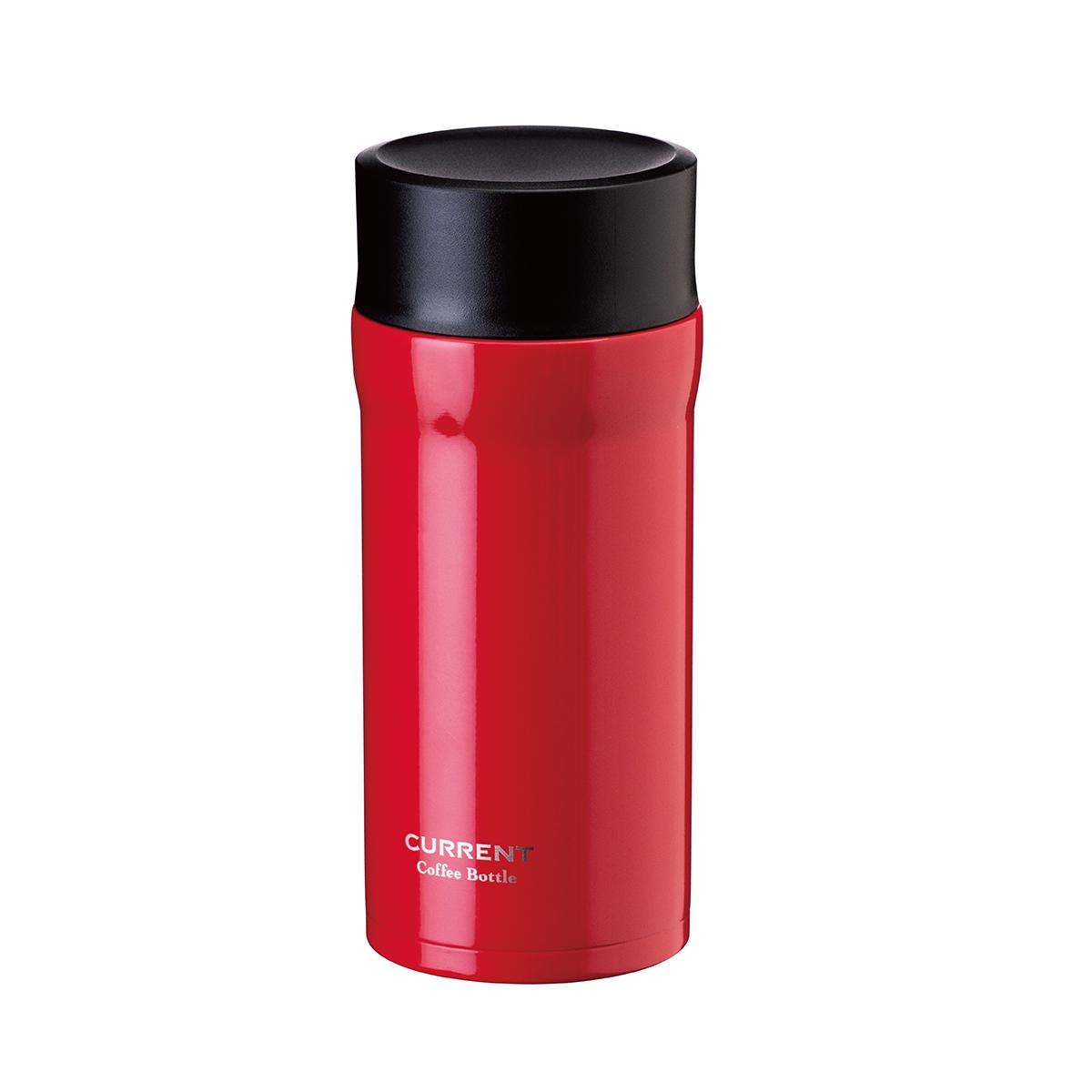 CURRENT コーヒーマグボトル 350ml レッド
