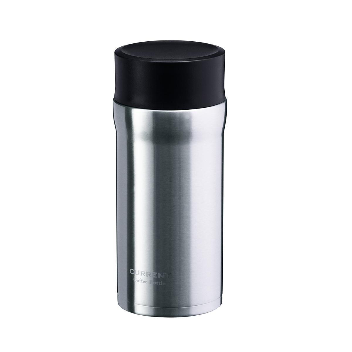 CURRENT コーヒーマグボトル 350ml シルバー image01