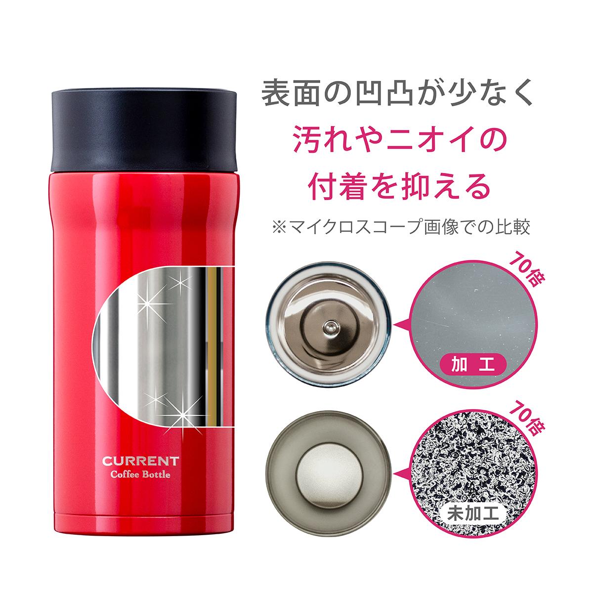 CURRENT コーヒーマグボトル 350ml ブラック image03