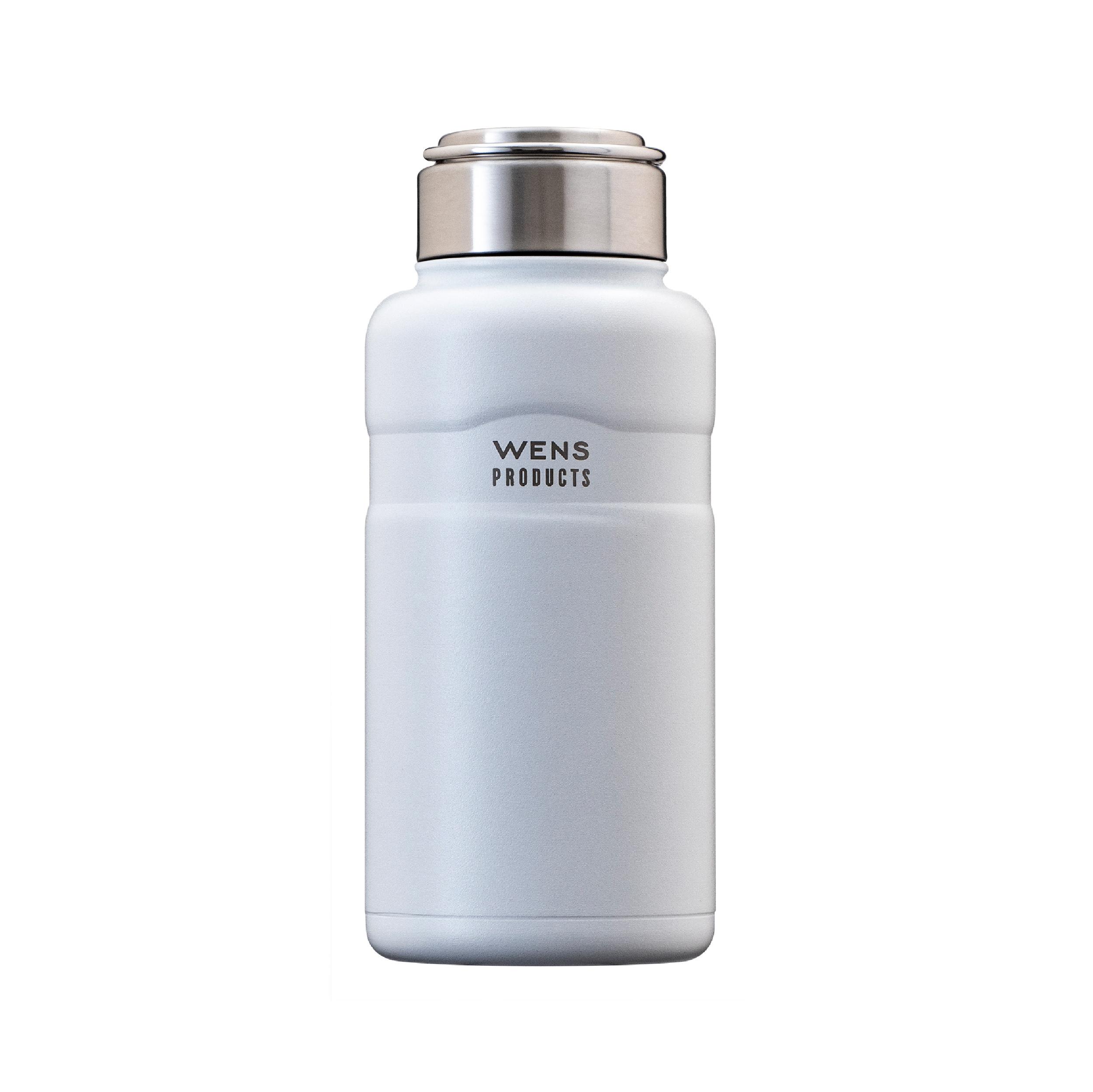 Wens ハンドル付きスクリューボトル 750ml ホワイト